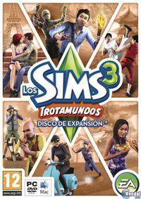 Portada oficial de Los Sims 3: Trotamundos para PC