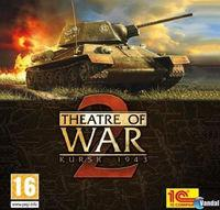 Portada oficial de Theatre of War II: Kursk 1943 para PC