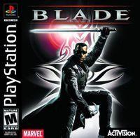 Portada oficial de Blade para PS One