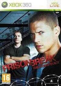 Portada oficial de Prison Break para Xbox 360