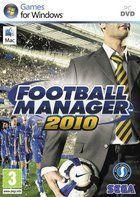 Portada oficial de de Football Manager 2010 para PC