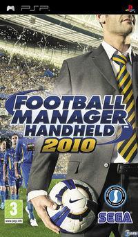 Portada oficial de Football Manager 2010 para PSP