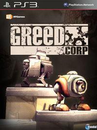 Portada oficial de Greed Corp para PS3