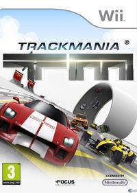 Portada oficial de TrackMania Wii para Wii