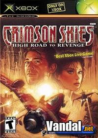 Portada oficial de Crimson Skies: High Road to Revenge para Xbox