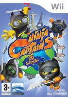 Portada oficial de de Ninja Captains para Wii