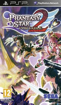 Portada oficial de Phantasy Star Portable 2 para PSP