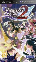 Portada oficial de de Phantasy Star Portable 2 para PSP