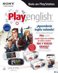 Portada oficial de PlayEnglish para PSP