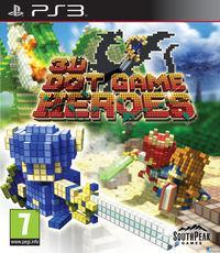 Portada oficial de 3D Dot Game Heroes para PS3