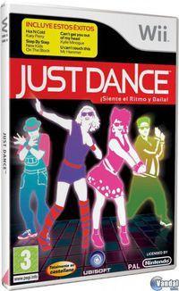 Portada oficial de Just Dance para Wii