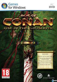 Portada oficial de Age of Conan: Rise of the Godslayer para PC