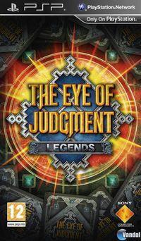 Portada oficial de Eye of Judgement para PSP