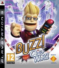 Portada oficial de Buzz! Quiz World para PS3