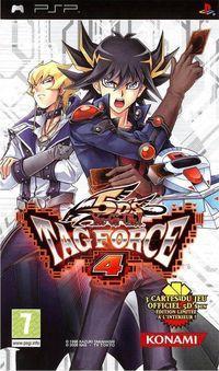 Portada oficial de Yu-Gi-Oh! 5D's Tag Force 4 para PSP