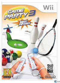 Portada oficial de Game Party 3 para Wii