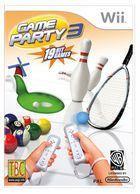 Portada oficial de de Game Party 3 para Wii