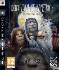 Portada oficial de Donde viven los monstruos para PS3