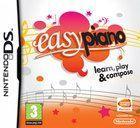 Portada oficial de de Easy Piano para NDS