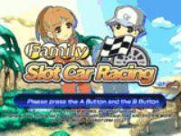Portada oficial de Family Slot Car Racing WiiW para Wii
