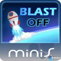 Portada oficial de Halfbrick Blast Off Mini para PSP