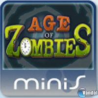 Portada oficial de Halfbrick Zombies Mini para PSP
