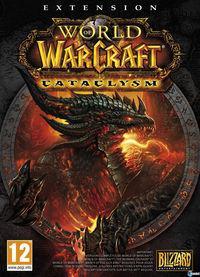 Portada oficial de World of Warcraft: Cataclysm para PC