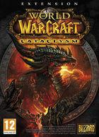 Portada oficial de de World of Warcraft: Cataclysm para PC