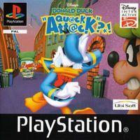 Portada oficial de Pato Donald Cuac Attack para PS One