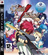 Portada oficial de Cross Edge para PS3
