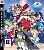 Portada oficial de de Cross Edge para PS3