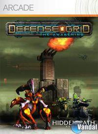 Portada oficial de Defense Grid: The Awakening XBLA para Xbox 360