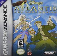 Portada oficial de Atlantis: The Lost Empire para Game Boy Advance