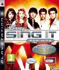 Portada oficial de Disney Sing It Pop Hits para PS3