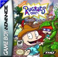Portada oficial de Rugrats: Travesuras en el castillo para Game Boy Advance