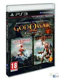 Portada oficial de God of War Collection para PS3
