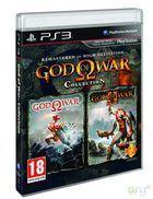 Portada oficial de de God of War Collection para PS3