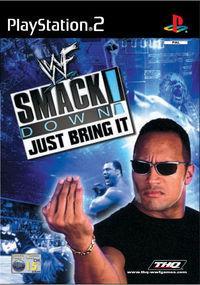 Portada oficial de WWF: Smackdown!: Just Bring It para PS2