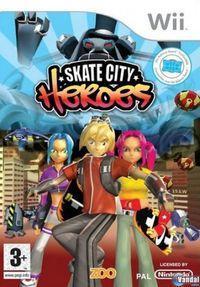 Portada oficial de Skate City Heroes para Wii