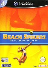 Portada oficial de Beach Spikers para GameCube