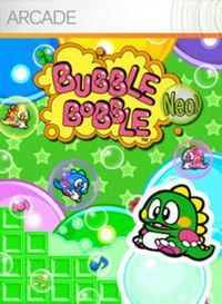 Portada oficial de Bubble Bobble XBLA para Xbox 360