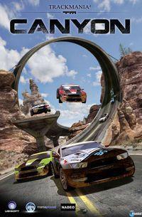 Portada oficial de TrackMania 2: Canyon para PC