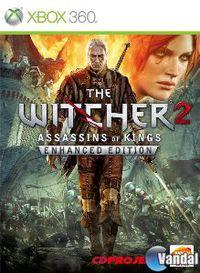 Portada oficial de The Witcher 2: Assassins of Kings Enhanced Edition para Xbox 360