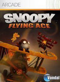 Portada oficial de Snoopy Flying Ace XBLA para Xbox 360
