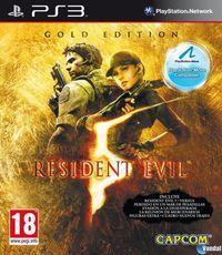 Portada oficial de Resident Evil 5: Gold Edition para PS3