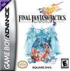 Portada oficial de de Final Fantasy Tactics Advance para Game Boy Advance