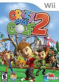 Portada oficial de Crazy Mini Golf 2 para Wii