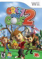 Portada oficial de de Crazy Mini Golf 2 para Wii