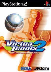 Portada oficial de Virtua Tennis 2 para PS2