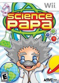 Portada oficial de Science Papa para Wii